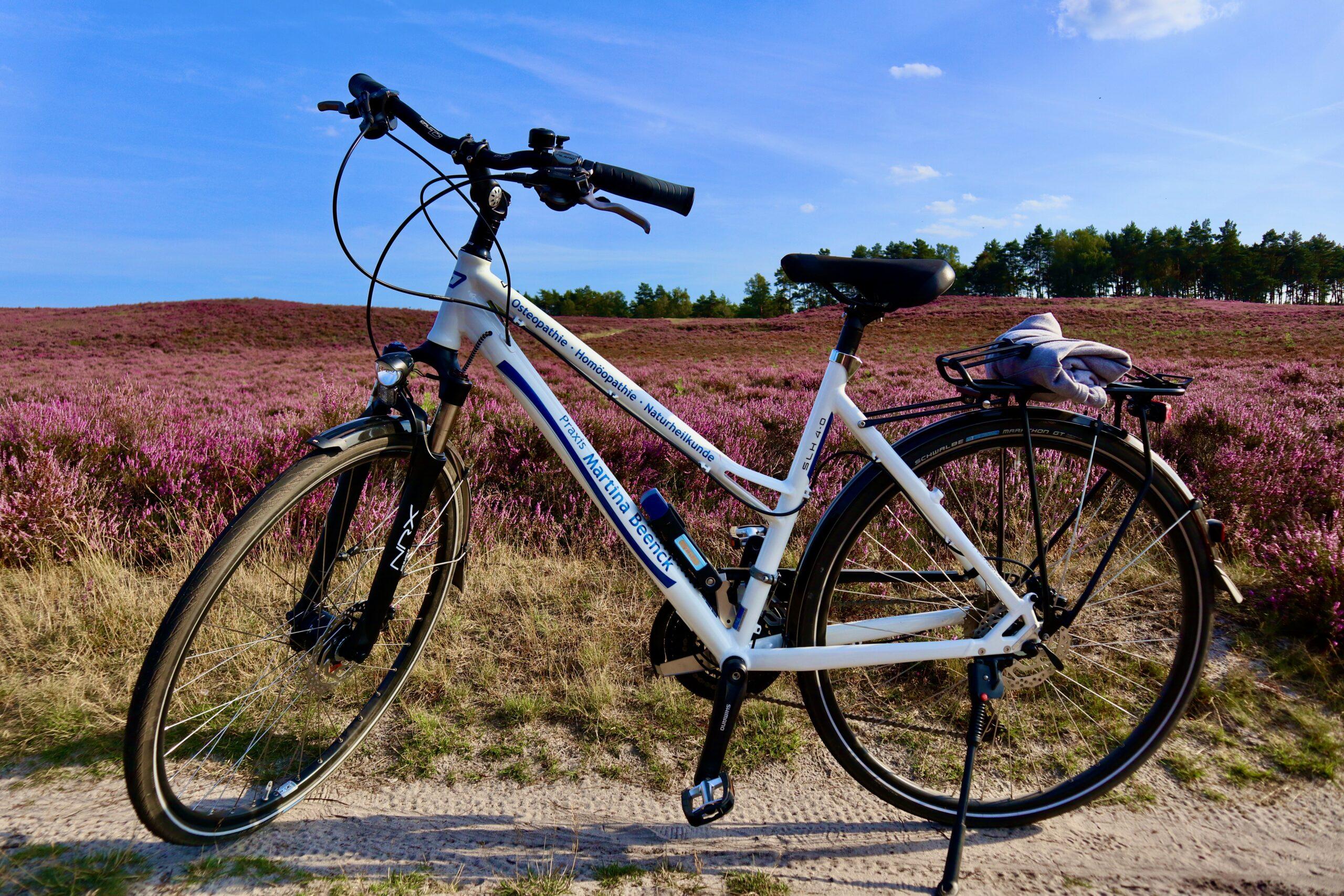 Praxis-Fahrrad Fischbeker Heidbrook Heilpraktikerin