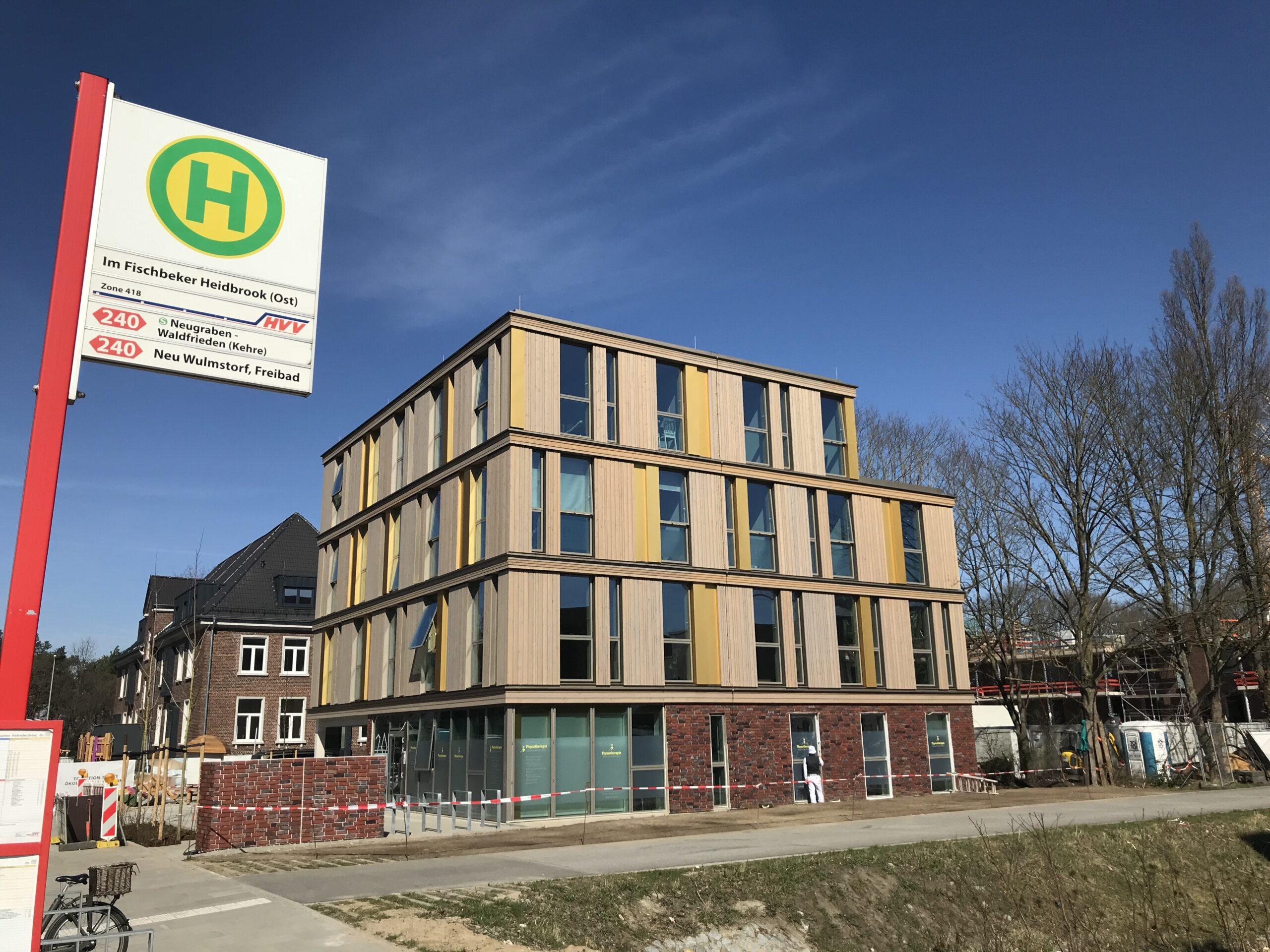 Gesundheitszentrum Fischbeker Heidbrook Bushaltestelle